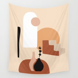 Abstract Elements 18 Wall Tapestry