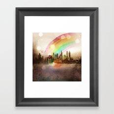 NYC Sky Framed Art Print