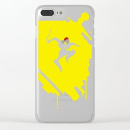 Infamous Second Sons Delsin Rowe Clear iPhone Case