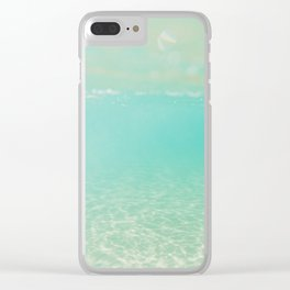 Clear day Clear iPhone Case
