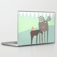 moose Laptop & iPad Skins featuring Moose by Dream Of Forest