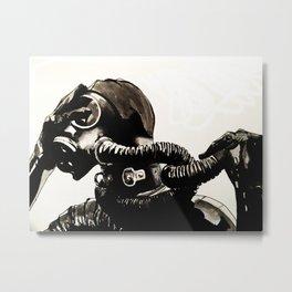 Gasp Metal Print
