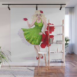 Pin-Up Love Wall Mural