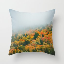 Canada Fall Colors Throw Pillow