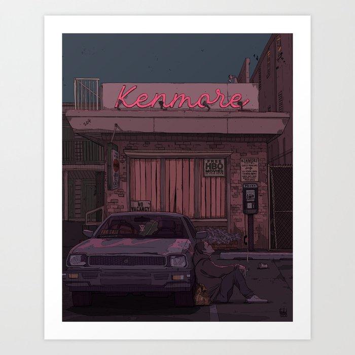 Kenmore Art Print