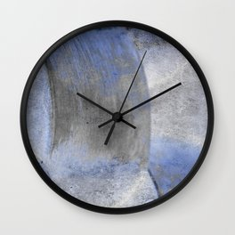 Abstract Weave 2 Wall Clock