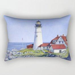 Portland Head Lighthouse Rectangular Pillow