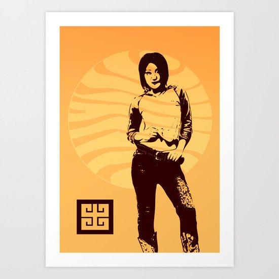 jean ad 3 Art Print