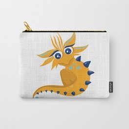 Orange Fragon Carry-All Pouch