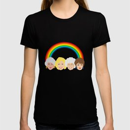 The Golden Girls LGBT Rainbow Pride T-shirt