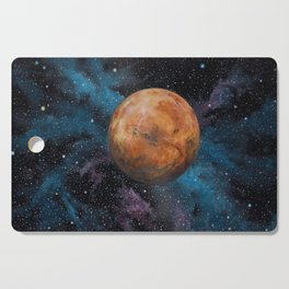 Mars and Stars Cutting Board
