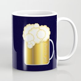 Mug of Beer, I Mean Cheer Coffee Mug