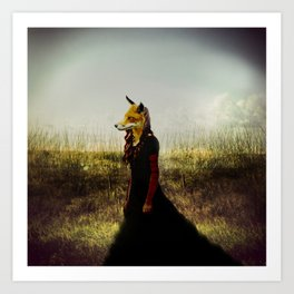 Eyes On The Prize | Fox Lady Art Print