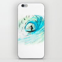 surfer iPhone & iPod Skins featuring Surfer by Bruce Stanfield