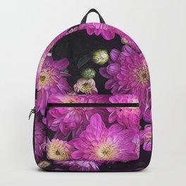 Pink Mums Garden Backpack