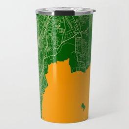 Mumbai Streets Map Travel Mug