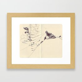 Sketchbook Framed Art Print