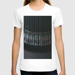 Rods old typewriter T-shirt