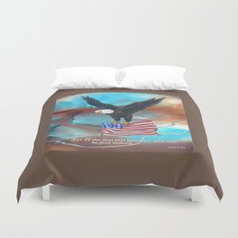 Free Indeed Duvet Cover