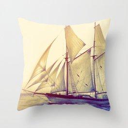 Afternoon Sail Throw Pillow
