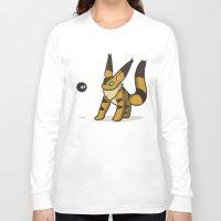nausicaa Long Sleeve T-shirts featuring Teto meets Soot sprite by KickPunch