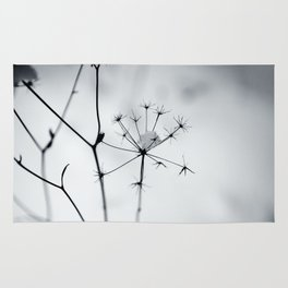 winter silhouettes Rug
