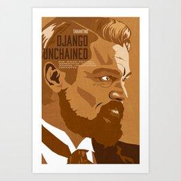 Quentin Tarantino's Plot Movers :: Django Unchained Art Print