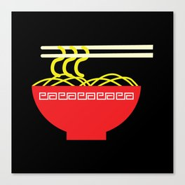 Noodles Canvas Print