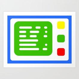 Beta One Command Base Art Print