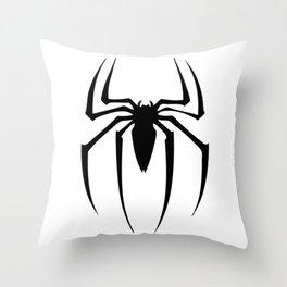 black spidey sense Throw Pillow