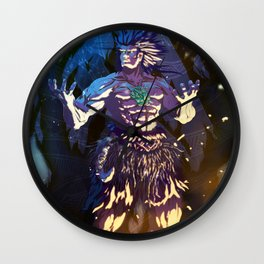 Maui the Orator. Wall Clock
