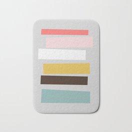 Geometric and minimalist art 01 Bath Mat