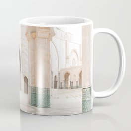 Beautiful Perspective - Hassan II, Casablanca, Morocco Coffee Mug