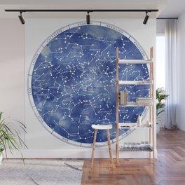 Star Map II Wall Mural