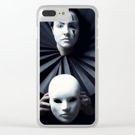 Poirot Clear iPhone Case