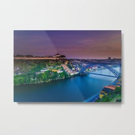 Porto Portugal sunset Metal Print