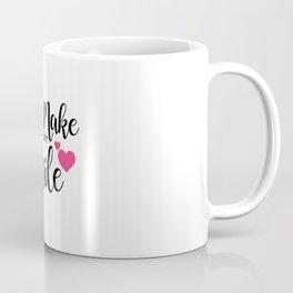 You Make My Heart Smile Coffee Mug
