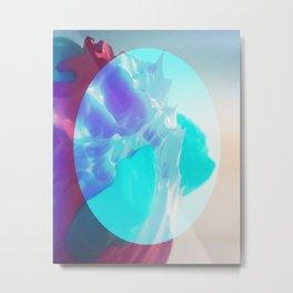 Day 0397 /// Kanaribølger Metal Print