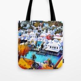 Neon Pop Art 4544 Bermuda Tote Bag