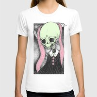 loll3 T-shirts featuring Death (Tarot Cards Series 2014) by lOll3