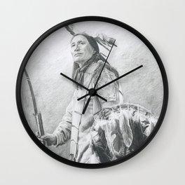 Taopi Ota - Lakota Sioux Wall Clock