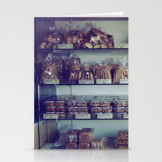 Greek Bakery Stationery Cards