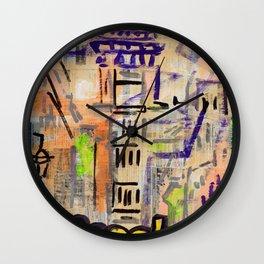 European Capital - Lissabon Wall Clock