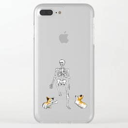 Attack dogs Clear iPhone Case