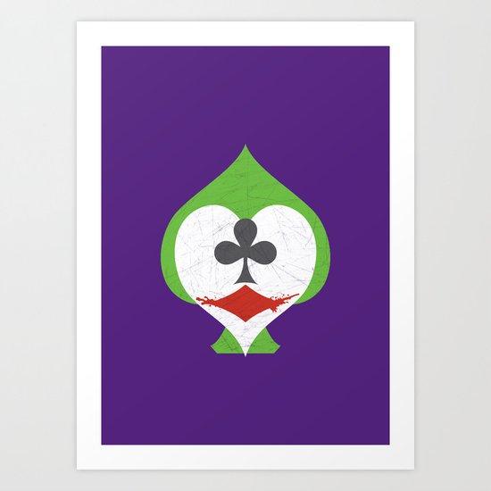 The Joker's Wild Art Print