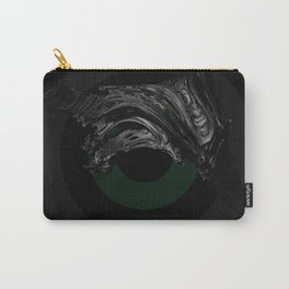 Green Smile Carry-All Pouch