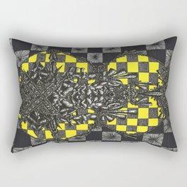 Prophet in the Pattern Rectangular Pillow
