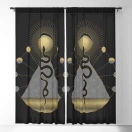 The Volcan by Night Blackout Curtain