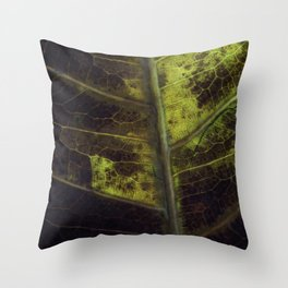 Leaf Eight Throw Pillow
