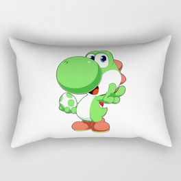 Super Smash Bros - Yoshi Rectangular Pillow